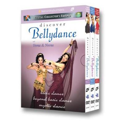 Discover Bellydance: Basic, Beyond Basic, Mystic Dance 49.95 34.95